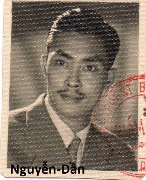 Trưởng bối Nguyễn Dần thập niên 1950